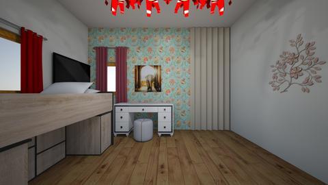 My bedroom - Bedroom - by pixigirl09