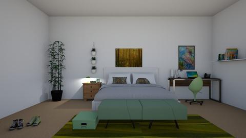 Nature Bedroom - Bedroom - by rileyemily