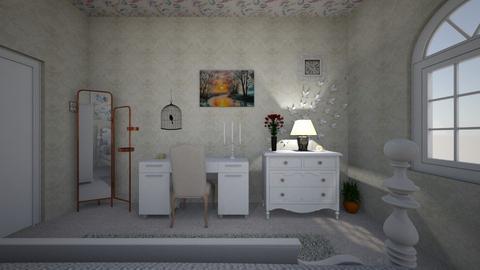 dream bedroom - Vintage - Bedroom - by RoseCatherine