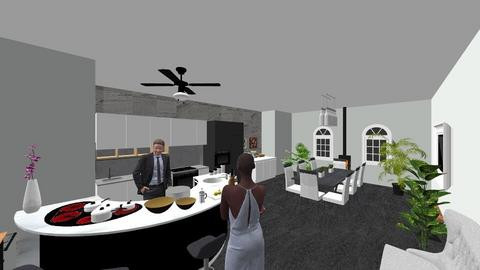room 3 - Kitchen - by paigehershey