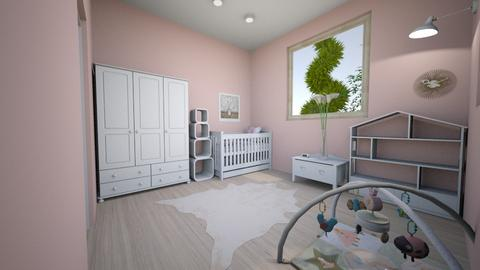 classic pink - Classic - Kids room - by princessofpuppets