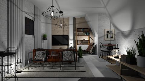 Salon - Living room - by chania