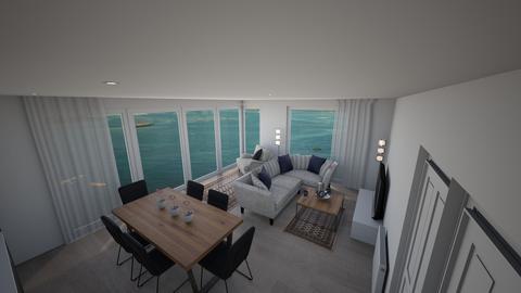 Norton House 4 - Living room - by JLStratford