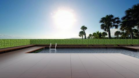 pool - Garden - by anjaam
