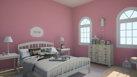 Baby - Vintage - Bedroom - by Sali15