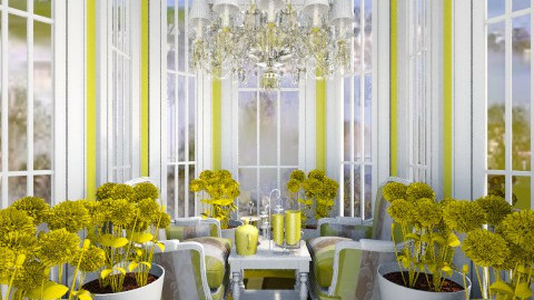 Tearoom - Glamour - Dining room - by Sherrycress