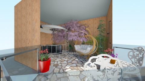 patio - Garden - by Chloe Marie Waters