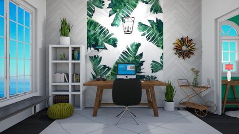 Urban Jungle Office - Office - by thomanjenna