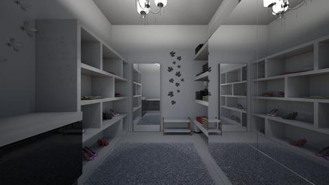 Walk in closet - Modern - Bedroom - by Kyle_uwu