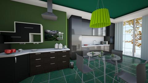 green cosina - Country - Living room - by Boka i Deki