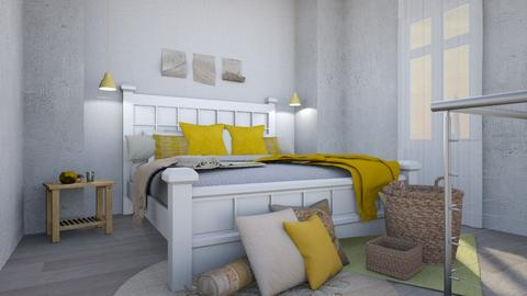 Industrial Boho - Modern - Bedroom - by kaylani