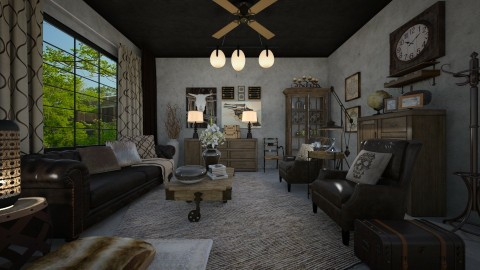 Rustic Charm - Modern - Kitchen - by Lackew