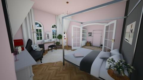 Parisian Chic - Feminine - Bedroom - by k8manion