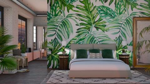 Urban Jungle - Bedroom - by lovedsign