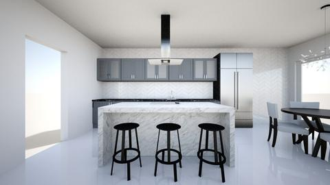 Glamour - Modern - Kitchen - by jennamorgan
