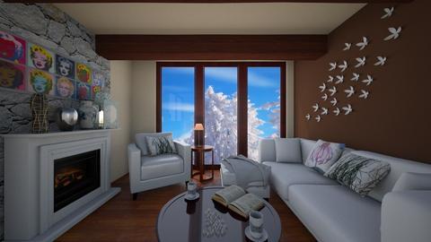 number 4 - Vintage - Living room - by PiggyPower