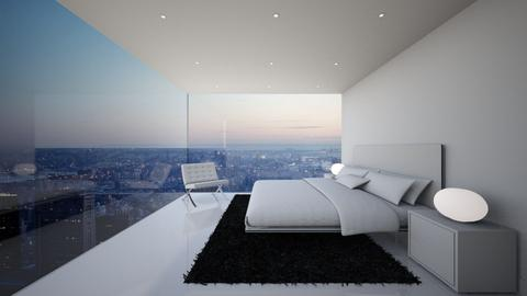 NY Bedroom - Minimal - Bedroom - by deleted_1579725055_athinast