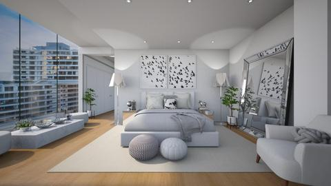 clean cut - Bedroom - by MiaM