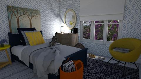 First try bedroom - Eclectic - Bedroom - by KellyJR