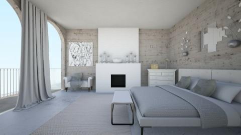 bedroom - by Cassandra Cafone Wright