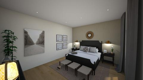 Contemporary Bedroom - Classic - Bedroom - by asm004