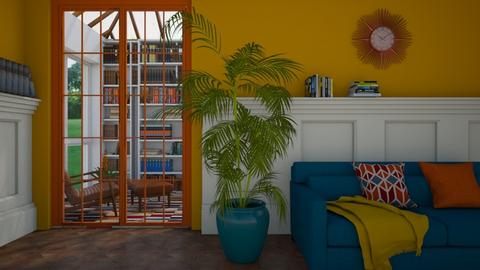 Mid Century - Living room - by Miss MH