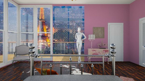 paris4 - Bedroom - by Vajk Grti