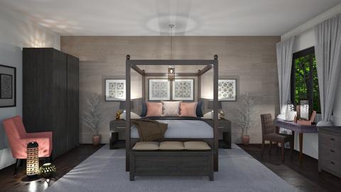 IP Diego - Bedroom - by Kelly Carter