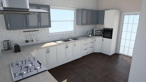 Open Concept  - Modern - Kitchen - by Loraine Mariette