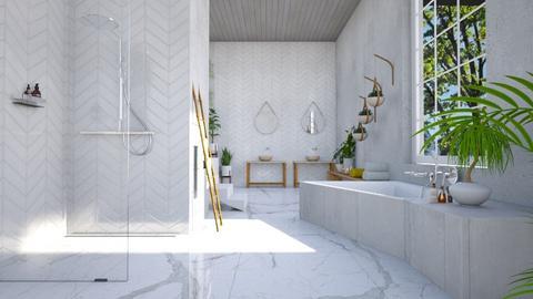 minimalist jungle - Minimal - Bathroom - by kitty