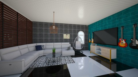 lovers - Living room - by leehlopes