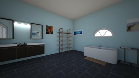 bathroom - by kvazq0899