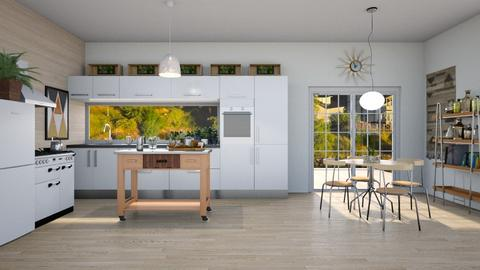 Scandinavian Kitchen - Kitchen - by Kelly Carter