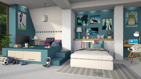 Inspire Teenage Girl - Kids room - by LB1981