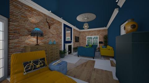 Looe House lounge 2 - Living room - by Lisett