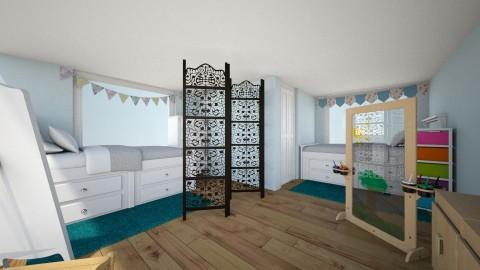 twin play - Kids room - by ehamlin