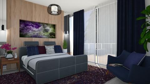 M_Boxspring - Modern - Bedroom - by milyca8
