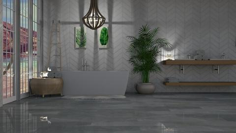 relax during the night - Modern - Bathroom - by NEVERQUITDESIGNIT