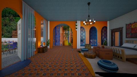 Morocco Bohemian des - Bedroom - by faar70