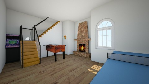Games room  - Retro - Living room - by Its Me Marto