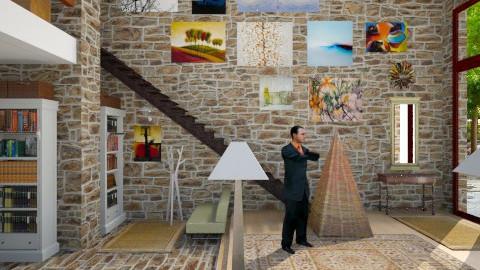 oldbankENT - Eclectic - Living room - by russ