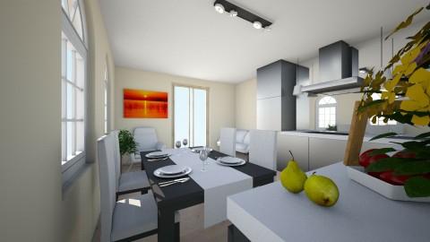 4 - Kitchen - by haneczka