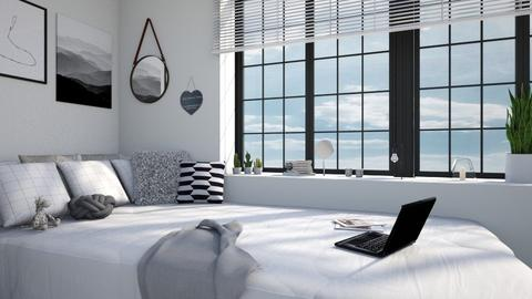 white apartment - by TaeBlossom