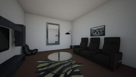 My Lounge Room Design - by Rochelle Reale