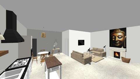 Whg 10 - Living room - by claudelaude