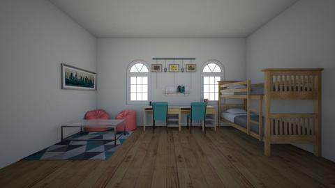 Twin kids room - Kids room - by New York Mets