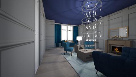 Template Baywindow Room - Living room - by designermap