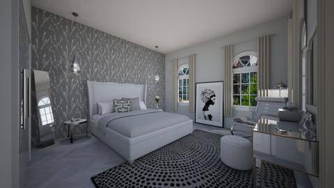All Shades of grey - Bedroom - by raphaelfernandesdesign
