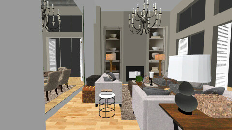 house - Living room - by Ginaschia