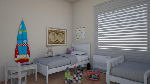 detska3 - Vintage - Kids room - by vinjarova